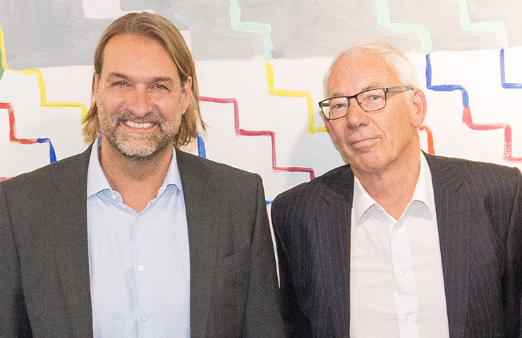 Photo Uwe Bergmann et Leopold Födermayr