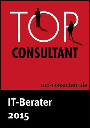 Label satisfaction client TOP Consultant 2015