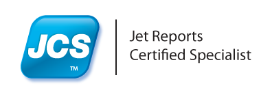 Jet Reports Certified Specialist logo